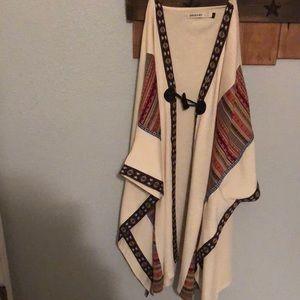 Long shawl